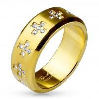 Damen Herren Fingerring Ring Statementring aus Edelstahl