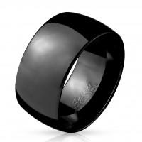 Edelstahl Ring Fingerring Trauring Ehering Verlobungsring schwarz