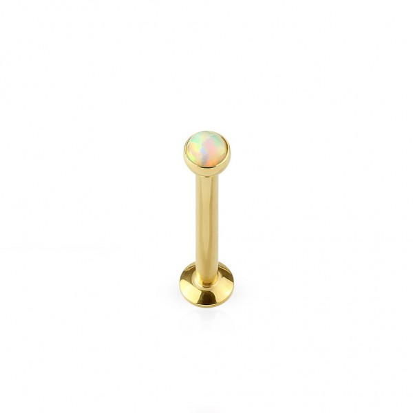 Piercing Labret Stud Cartilage aus Chirurgenstahl in gold, schwarz, roségold
