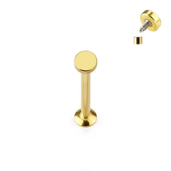 Monroe Cartilage Stud Edelstahl-Chirurgenstahl gold, schwarz, roségold, stahl