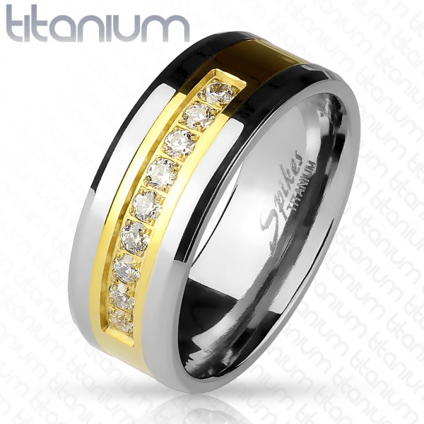 Coolbodyart Damen Herren Titan Ring Fingerring Freundschaftsring, Verlobungsring, Ehering, Trauring