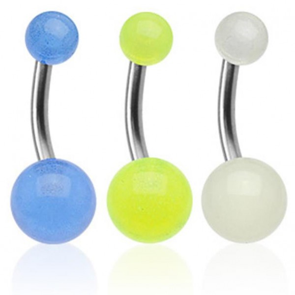 "Titan Bauchnabel Piercing UV Ultra ""Glow"" Must Have"