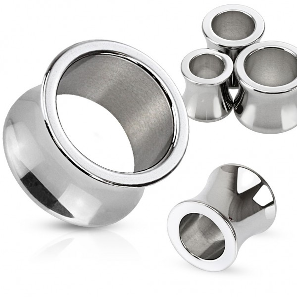 "Saddle Plug Tunnel 3-25mm ""Basic Origin Steel"""
