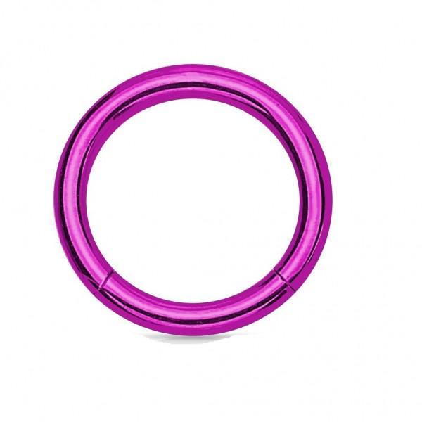 Piercing Ring aus Chirurgenstahl/Titan in vielen verschiedenen Farben und Größen